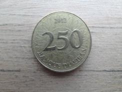Liban  250  Livres  2012  Km 36 - Lebanon