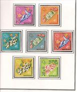 TOGO Scott 604-606, C69-C72 Yvert 536-538, PA71-74(7) ** Cote 6,00$ - Togo (1960-...)