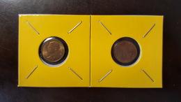 Thailand Coin Circulation 25 Satang 1/4 Baht Year 1990 UNC 2 Pcs (2) - Thailand
