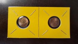 Thailand Coin Circulation 25 Satang 1/4 Baht Year 1994 UNC 2 Pcs (2) - Thailand