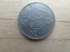 Arabie Saoudite  50 Halala  1400    Km 56 - Arabie Saoudite