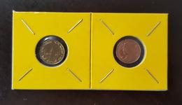 Thailand Coin Circulation 25 Satang 1/4 Baht Year 1996 UNC 2 Pcs (2) - Thailand
