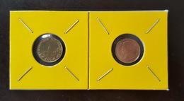 Thailand Coin Circulation 25 Satang 1/4 Baht Year 1998 UNC 2 Pcs (2) - Thailand