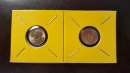 Thailand Coin Circulation 25 Satang 1/4 Baht Year 2000 UNC 2 Pcs (2) - Thaïlande