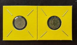 Thailand Coin Circulation 25 Satang 1/4 Baht Year 2004 UNC 2 Pcs (2) - Thailand