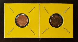 Thailand Coin Circulation 25 Satang 1/4 Baht Year 2010 UNC 2 Pcs (2) - Thailand