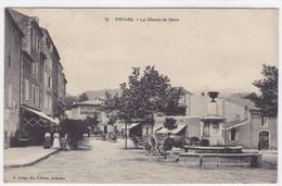 Ardèche - Privas - Le Champ-de-Mars - Privas