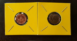 Thailand Coin Circulation 25 Satang 1/4 Baht Year 2012 UNC 2 Pcs (2) - Thailand