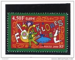 "France 3339  Neuf ** (""Folklores"")  Cote 1,40€ - Neufs"