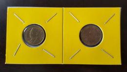 Thailand Coin Circulation 50 Satang 1/2 Baht Year 1994 UNC 2 Pcs (2) - Thailand