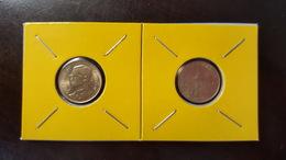 Thailand Coin Circulation 50 Satang 1/2 Baht Year 2000 UNC 2 Pcs (2) - Thailand