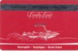 ESTONIA   KEY CABIN     LINDA LINE EXPRESS VIP  Shipping Company - Cartes D'hotel