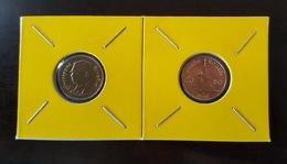 Thailand Coin Circulation 50 Satang 1/2 Baht Year 2007 UNC 2 Pcs (2) - Thailand