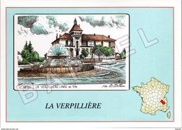 La Verpillière (38) - Hôtel De Ville (Yves Ducourtioux) (1) - Autres Communes