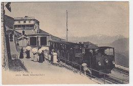 Monte Generoso-Kulm - Dampfbahn In Grossaufnahme       (P-95-60726) - TI Tessin