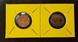 Thailand Coin Circulation 50 Satang 1/2 Baht Year 2009 Bronze UNC 2 Pcs (2) - Thailand