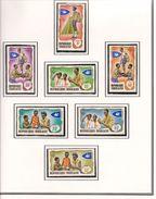 TOGO Scott 656-660, C97-C98 Yvert 588-592, PA100-PA101 (7) ** Cote 4,20 - Togo (1960-...)