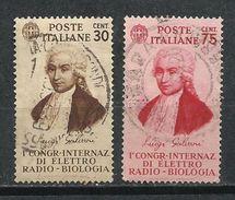 Italia. 1934. 1º Congreso Internacional De Electro-radio-biológica. - 1900-44 Victor Emmanuel III