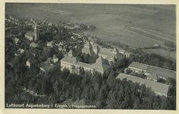 Luftkurort Augustusburg I. Erzgebirge. Fliegeraufnahme (001538) - Augustusburg