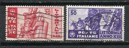 Italia. 1935. Día De La Cultura Y De Las Artes. - 1900-44 Victor Emmanuel III