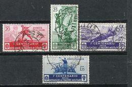 Italia. 1934. Centenario De La Medalla Al Valor - 1900-44 Victor Emmanuel III