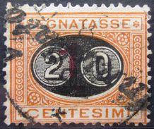 ITALIE              TAXE 23            OBLITERE - 1878-00 Humbert I.