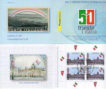 Italia 2004 -Trieste 25.10.2004 - 50° Anniv. Trieste All'Italia ( 1° Giorno) - - Blocchi & Foglietti