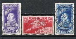 Italia. 1935. 1º Salón Aeronáutico Internacional. - 1900-44 Victor Emmanuel III