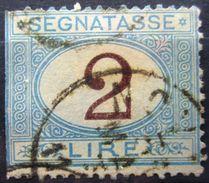 ITALIE              TAXE 14          OBLITERE - 1878-00 Humbert I.