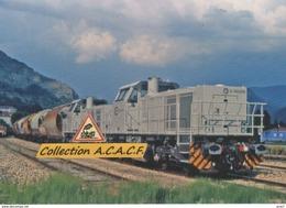Locos G1000BB Vossloh ECR Et Train De Trémies à Veynes-Dévoluy (05) - - Other Municipalities