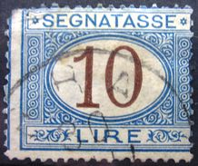 ITALIE              TAXE 18          OBLITERE - 1878-00 Humbert I.