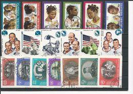TOGO Scott 722-5,C126-7, 741-5,C135, 751-5,C137-8 Yvert 654-7,PA128-9, 673-7,PA137, 687-1,PA141-2 (19) O Cote 4,40$ 1970 - Togo (1960-...)
