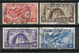 Italia. 1936. 17º Feria De Milán. - 1900-44 Victor Emmanuel III