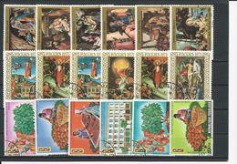 TOGO Scott Voir Description Yvert 692-5, PA143-4, 703-5,PA148-0, 711-3,PA154-6 (18) O Cote 4,30$ 1970-1 - Togo (1960-...)