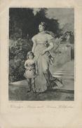 Königin - Luise Mit Prince Wilhem - Circulée 1903 - Familles Royales
