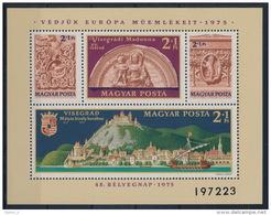 **Hungary 1975 Mi 3064-67 A Block 115A Visegrad MNH - Ungebraucht