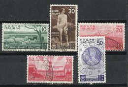 Italia. 1936. Bimilenario Del Nacimiento De Horacio. - 1900-44 Victor Emmanuel III