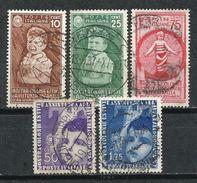 Italia. 1937. Conmemorativos A Las Vacaciones En Las Colonias Romanas. - 1900-44 Victor Emmanuel III