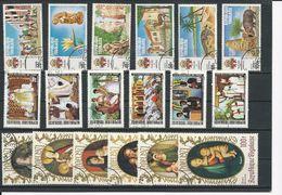 TOGO  Scott Voir Description Yvert 715-7, PA159-0, 719-1, PA164-6, 731-4, PA171-2 (18) O Cote 4,20$ 1971 - Togo (1960-...)