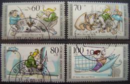 BERLIN - YVERT Nº 829/32 USADOS - EN BENEFICIO DE LA JUVENTUD - [5] Berlín