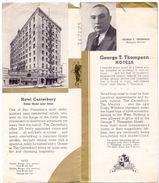 Brochure Dépliant Toerisme Tourisme - 3 Great Hotels - San Francisco - Dépliants Touristiques