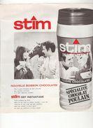 Publicité Chocolat Poulain STIM - Chocolat