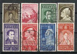 Italia. 1937. Personajes Ilustres. - 1900-44 Victor Emmanuel III