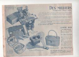 Publicité Chocolat Poulain Poupées Jeux Jouets Anciens - Chocolat