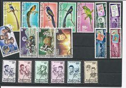 TOGO  Scott Voir Descrption Yvert 750-3,PA184, 769-0,PA198-9, 787-9,PA207, 790-2,PA208-0 (19) O Cote 5,60$ 1973 - Togo (1960-...)