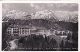 Autriche > Basse-Autriche > Semmering Grand Hôtel Panhans - Semmering
