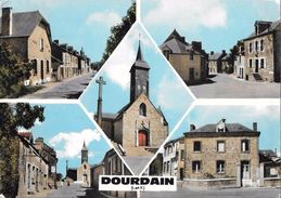 DOURDAIN --Multivues - Cpsm - France