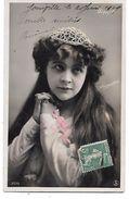 MARTYL - Artiste Des Années 1900 -  Carte Dos Divisé - Voyagé En 1909 - Entertainers