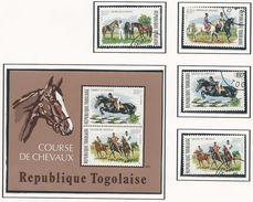 TOGO Scott 885-886, C232-C233, C233a Yvert 813-814, PA231-PA232, BF79 (4) Oblitéré Et ** (bloc) Cote 7,00$ - Togo (1960-...)