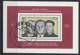 Germany (DDR) 1983  Schulze-Boysen/Harnack (o) Mi.2782 (block 70) - DDR